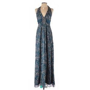 NWOT BCBG Max Azria floral maxi dress